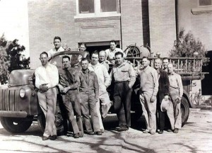 Leonard VFD during the late 1940's-early 1950's.