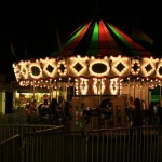 The picnic has both day and evening events, including rides for the kids