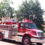 Our VFD at the parade