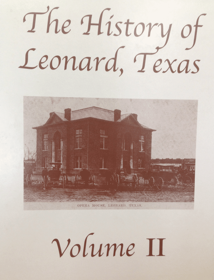 Cover of History of Leonard book.