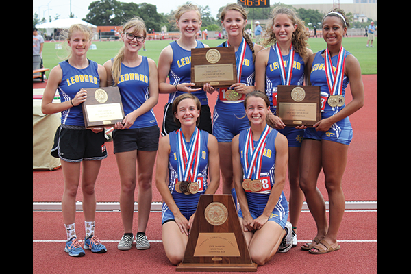 Home of the 2015 State Champion Girls' Track Team