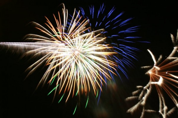 A huge fireworks show tops off the annual Leonard Picnic in July.
